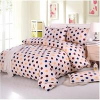 3piece Send pillowcase Pure cotton bed sheet piece students with thick winter quilt bed single and double 2.0/1.5 1.8 m bed