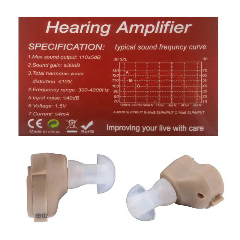 Mini Hearing Aids Invisible Sound Amplifie In The Ear Invisible Best Sound Amplifier for the elderly Articles the invisible library