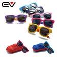 2016 Classic Bebé Niñas niños gafas de Sol Polarizadas Niños Niños Niño de Béisbol Al Aire Libre Deportes gafas de Sol UV400 Proteger EV1236