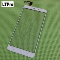 100 Warranty Black White Front Panel Touch Screen Digitizer For XiaoMi MI MAX 2 Glass Sensor