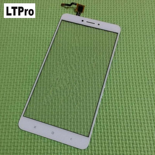 LTPro 100% Warranty Black White Front Panel Touch Screen Digitizer For XiaoMi MI MAX 2 Glass Sensor Phone Parts Replacement
