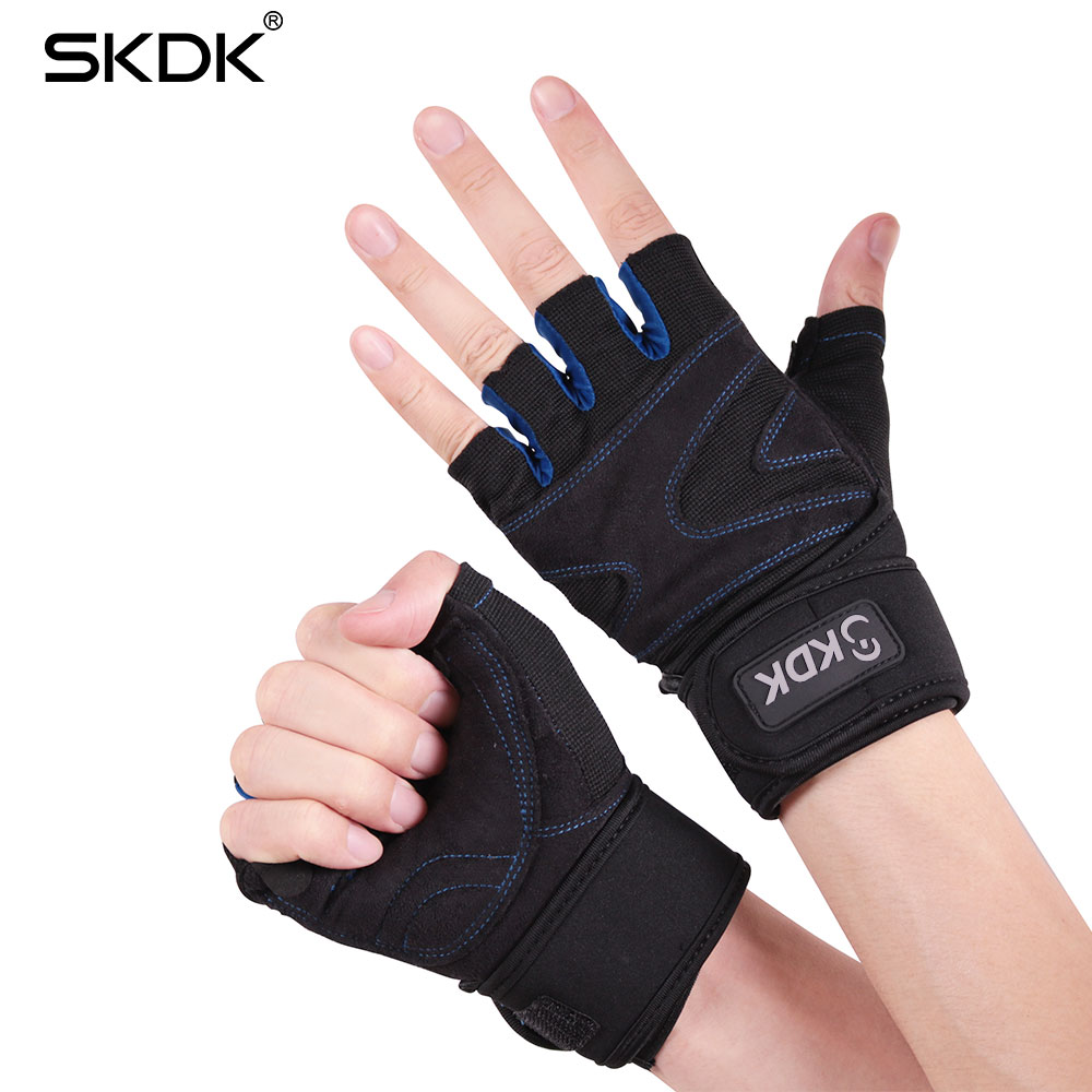 Skdk Gym Fitness Male Half Finger Female Exercise Dumbbell -4239