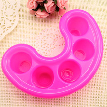 Nail supplies five fingers bowl hand remove clean nail polish enamel softening dead skin nail care special tool