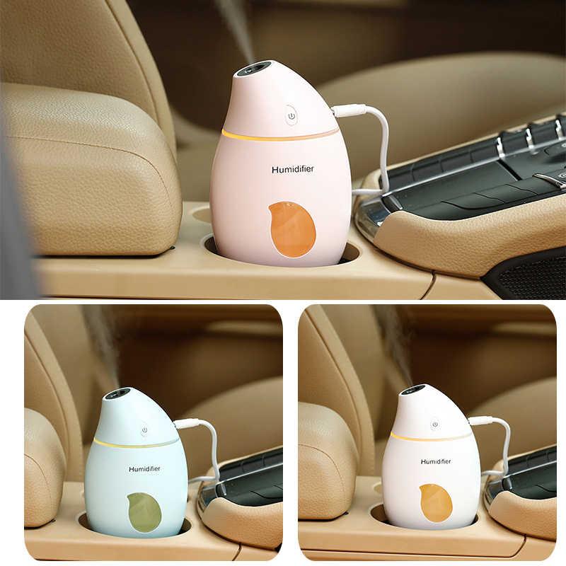 160 мл мини-увлажнитель воздуха USB аромат эфирное масло диффузор прохладный туман чайник светодио дный USB увлажнитель воздуха ароматерапия для офиса