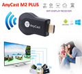 Anycast Mirascreen Wecast Ezcast Wifi Inalámbrico Teléfono con HDMI TV HDTV adaptador Dongle Para el iphone 6 Samsung HTC LG S5 S7 SONY