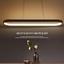 Neue Kreative moderne LED pendelleuchten Küche acryl + metall suspension hängen deckenleuchte für esszimmer lamparas colgantes