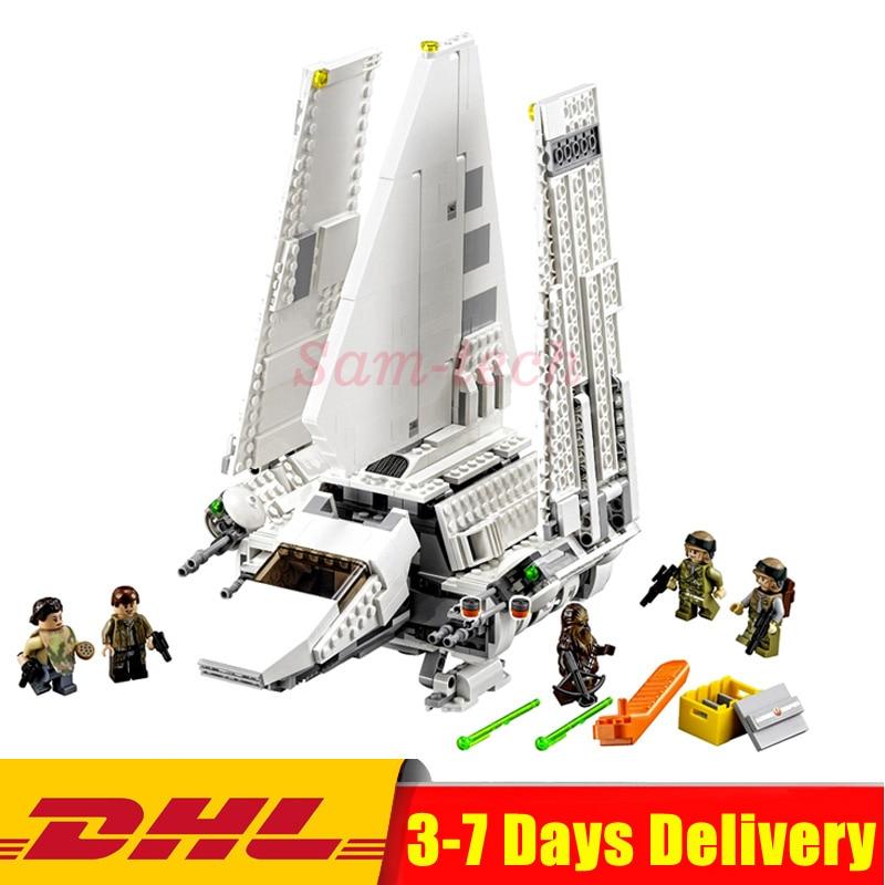 EN Stock LEPIN 05057 Série Star War Imperial Navette Tydirium Blocs de Construction Briques Mini Assemblé Jouets Clone Legoings 75094