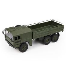 JJRC Q64 1/16 2.4G 6WD Rc Car Military Truck Off-road Rock Crawler RTR Toy 6 Wheels Racing Toys For Children Kids Gifts 2018 new arrival 1 16 wpl c14 scale 2 4g 4ch mini off road rc semi truck rtr kids climb truck toy for children