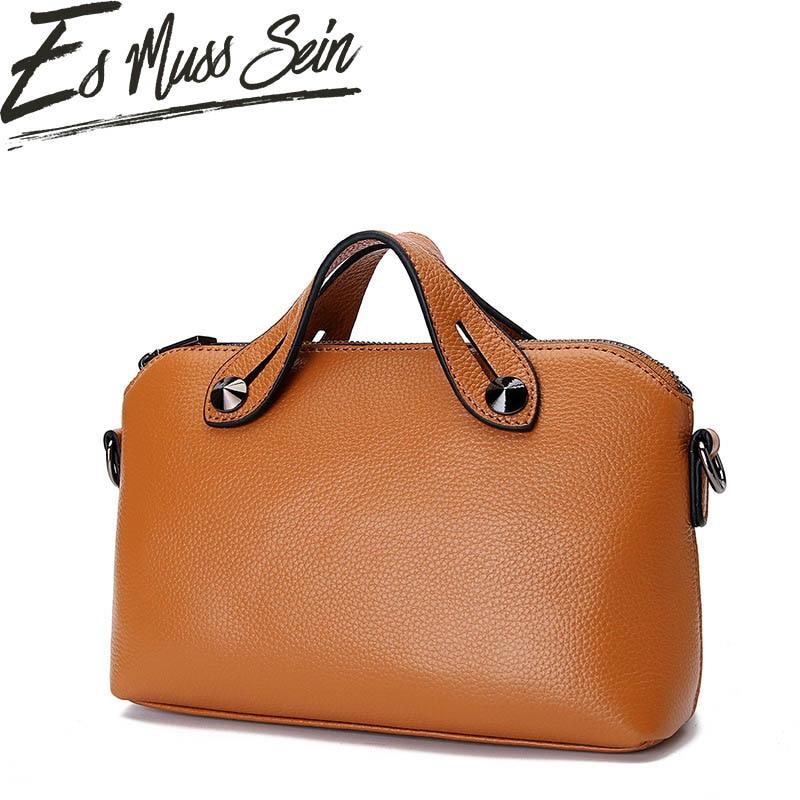 EsMussSein Women Handbag New Designer Genuine Leather Metal Bird Cover Lock Small  Women Flap Bag Lady Chain ... 24cdf7f532ff4