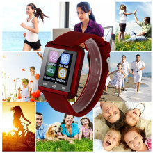 10pcs lot NEW Bluetooth u80 Smart Watch MTK font b smartwatchs b font sport for Samsung