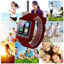 10 teile/los NEUE Bluetooth u80 Smart Uhr MTK smartwatchs sport für Samsung S4/Note 2/Note3 HTC xiaomi für Android-Handy