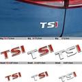Diseño de Coches TSI Coche de Metal Etiqueta Engomada del Emblema distintivo Para Volkswagen VW Polo Golf 4 5 6 Passat B5 B6 Tiguan Touran Bora Jetta del Escarabajo CC