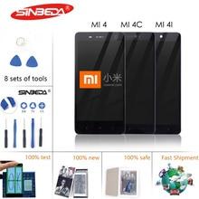 купить 5.0Origina Display For XIAOMI MI 4 C LCD Display Touch Screen Digitizer Assembly For XIAOMI MI4 Mi4 Mi4i LCD дешево
