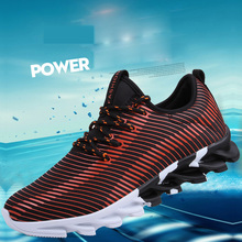 Microfiber Leather Casual Sport Flats Breathable Shoes Men Weight Trainers Lace-Up Shoe Deportivas Hombre Zapatos Corrientes