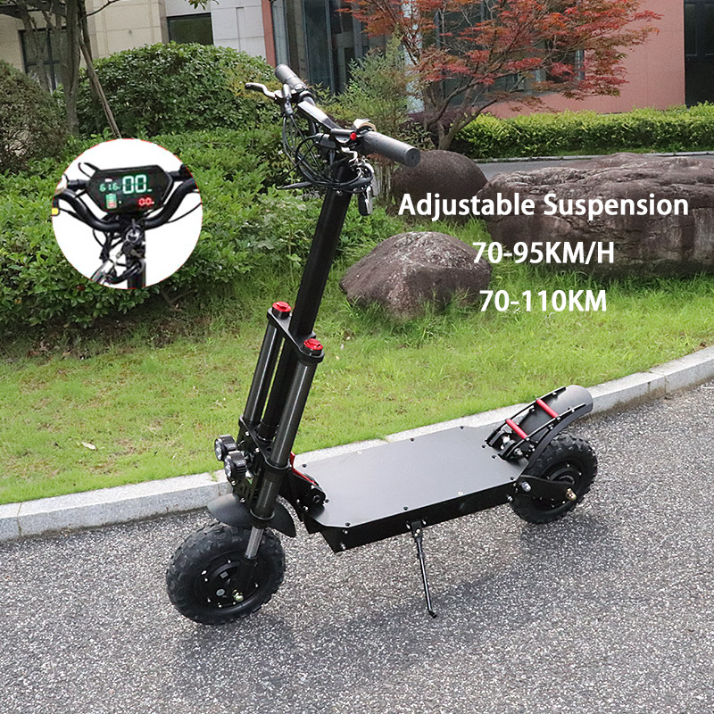 11 inch Off Road Electric Scooter Adult 60V 3200W Strong Powerful New Foldable Electric Bicycle Fold Hoverboad Bike E Scooter