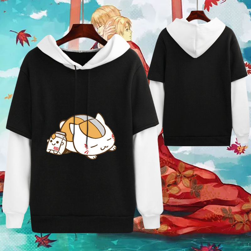 Natsume Yuujinchou Nyanko Sensei chat sweat Costume Cosplay sweat à capuche Daliy décontracté veste