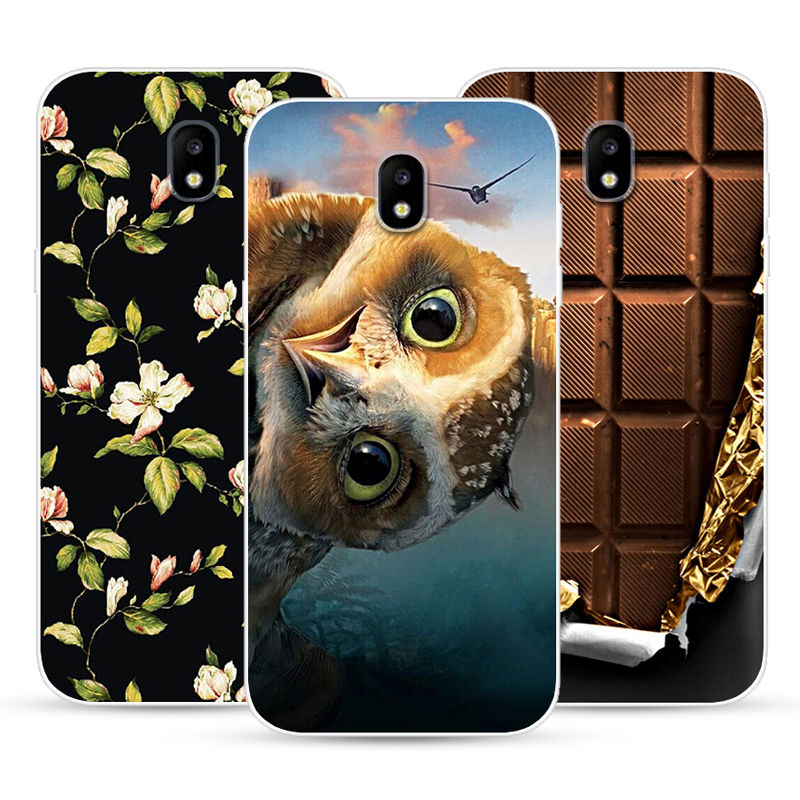 Case For Samsung Galaxy J3 2017 J5 2017 J7 2017 Transparent Printing Drawing Silicone Phone Cases Cover For Galaxy J3 2017