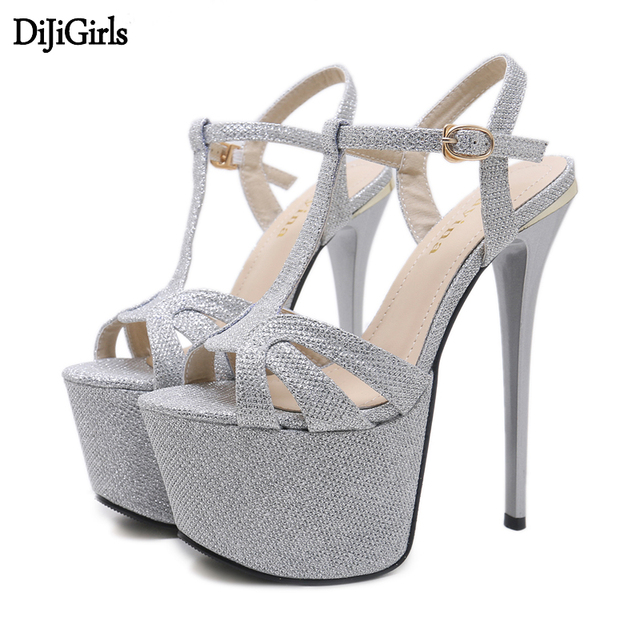 35a357e7690d4 Silver high heels Shoeshighheels Shoes high heels t