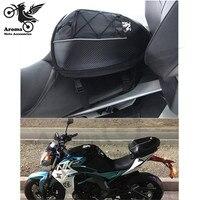 black motocross tail bag moto tank bags magnet moto accessories helmet racing dirt pit bike luggage pouch motorcycle saddlebag