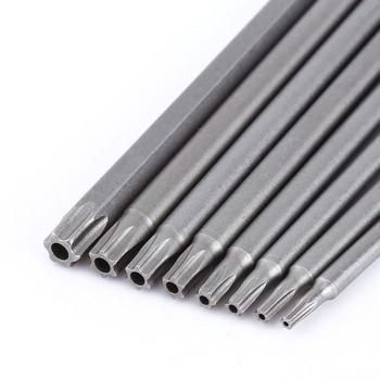 цена на 150mm 8pcs broca madeira Screwdriver Bit Head Screwdriver Set Bits Hand Tools Magnetic Screw Driver Set brocas para metal