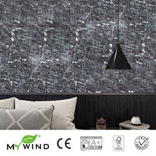 3D Wallpaper In Roll noble Decor 2019 MY WIND Black gold Bohemia style Wallpapers Luxury 100% Natural Material Safety Innocuity