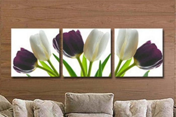 Modern Elegant Wall Decor : Modern abstract wall art home decor handmade oil painting