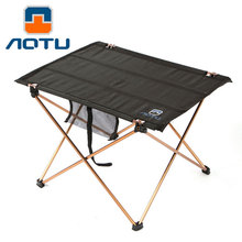 Oxford Medium Cloth Table Portable Outdoor Folding Table Ultralight Foldable Table for Camping Hiking Picnic Foldable Table