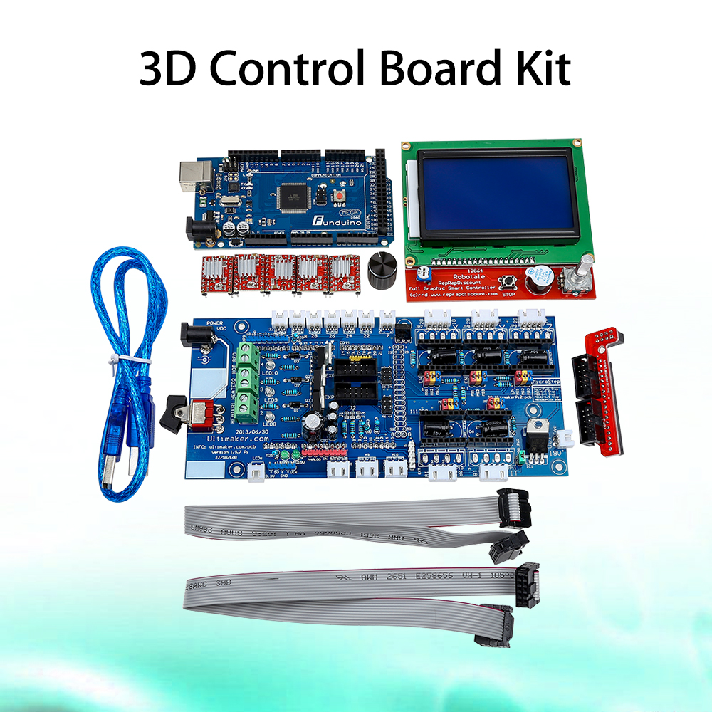 Keyes 3D control board kit(3D12864+3D 1.57+4988+2560 r3) for arduino