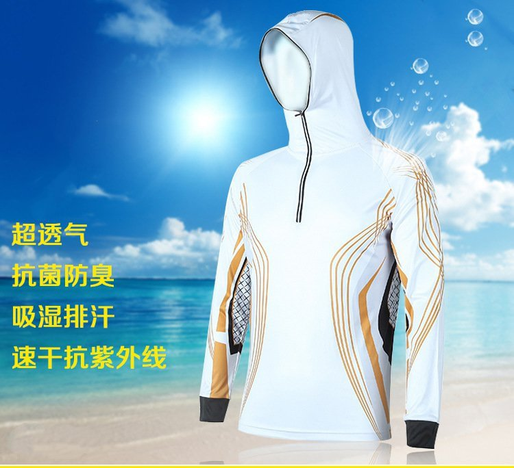 Sunscreen UV outdoor sports clothing men breathable quick-drying 2016fishing clothing sunscreen breathable summer mosquito quick drying top jersey fishing clothes male fresh breathable
