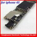 16 gb 100% motherboard original para iphone 4s placa lógica mainboard telefone inteligente ios instalado de fábrica desbloqueado istema board