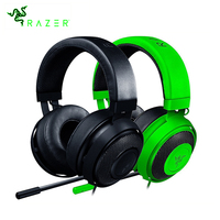 Razer Kraken Pro V2 Gaming Headset with Mic Oval Ear Cushions Analog 3.5 mm Headphone for PC for Xbox One for Play Station 4