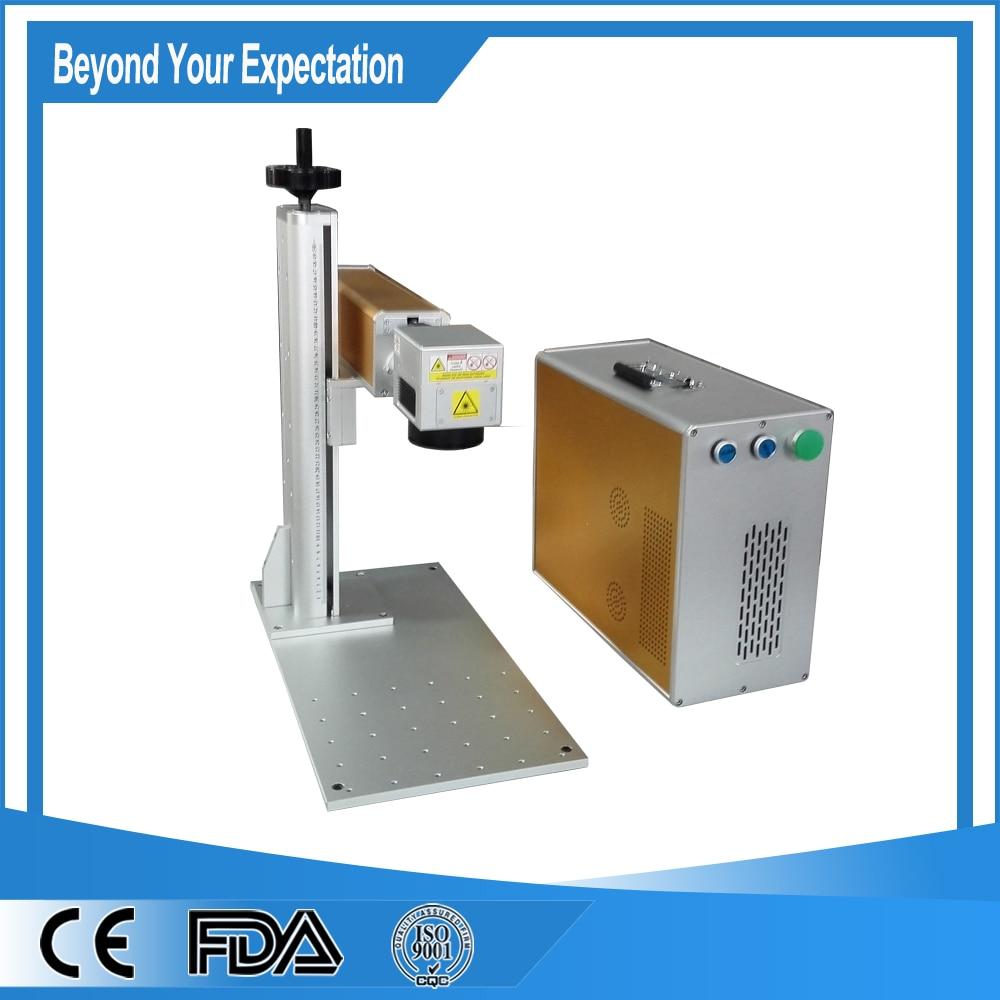 50W Optical Fiber Laser Marking Machine For Metal/Fiber Laser Marking with AMX laser source