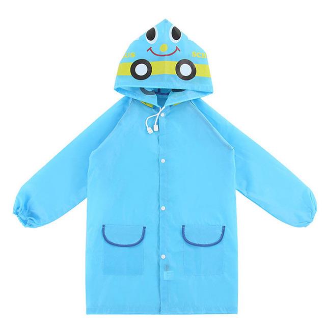 Animal Style Raincoat 4-6 years