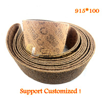 915 50 Mm 3M Non Woven Nylon Grinding Abrasive Belt Stainless Steel Wire Drawing P150 P240