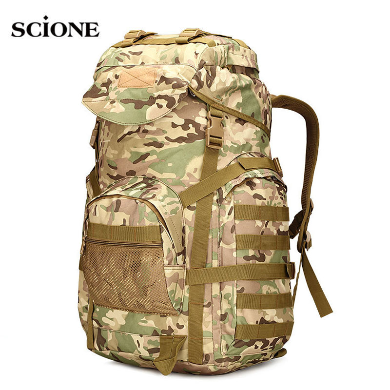 Military Tactical Assault Backpack Army Molle Waterproof Rucksack Large Backpacks for Outdoor Hiking Camping HuntingBag XA421WA free shipping men women unisex outdoor military tactical backpack camphiking bag rucksack 50l molle large big ergonomic gear