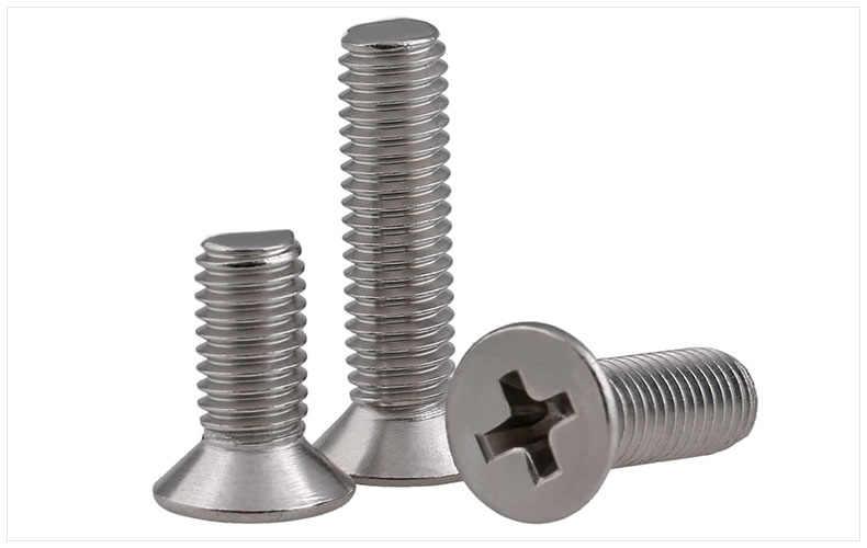 M3 Aluminum Alloy Phillips Screws Round Head Bolts Cross Slot Screw Bolt