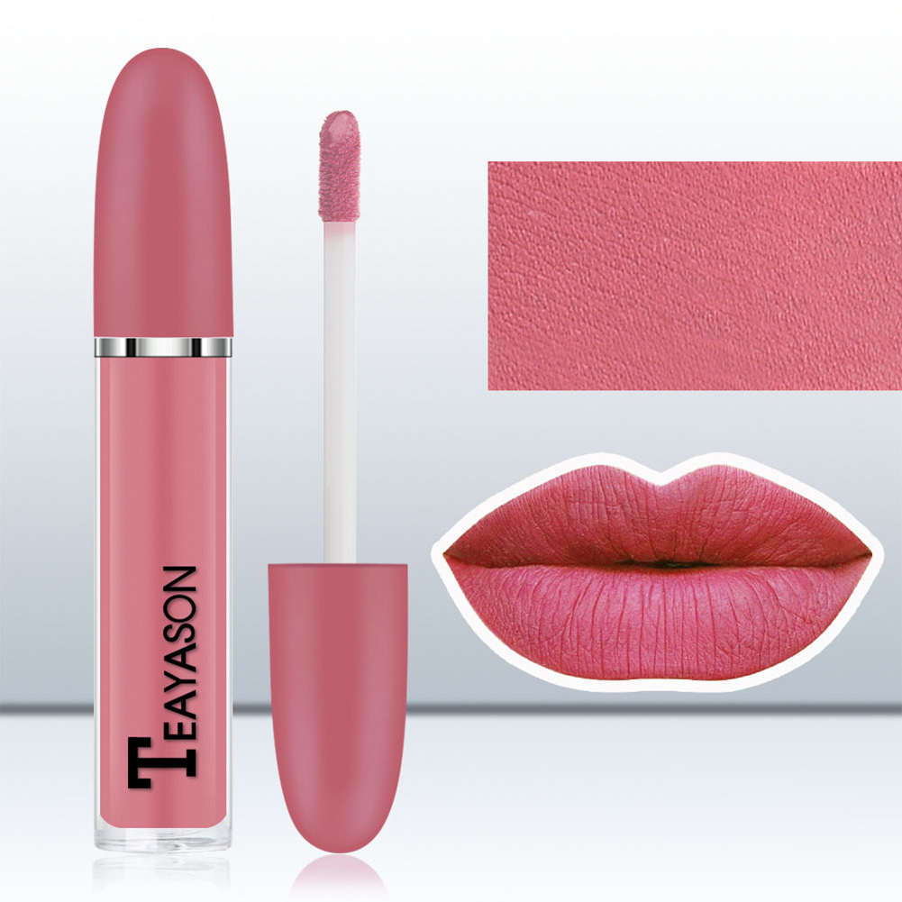 Sexy Long Lasting Women Liquid Lipstick Matte Lip Gloss Beauty Cosmetic Tool