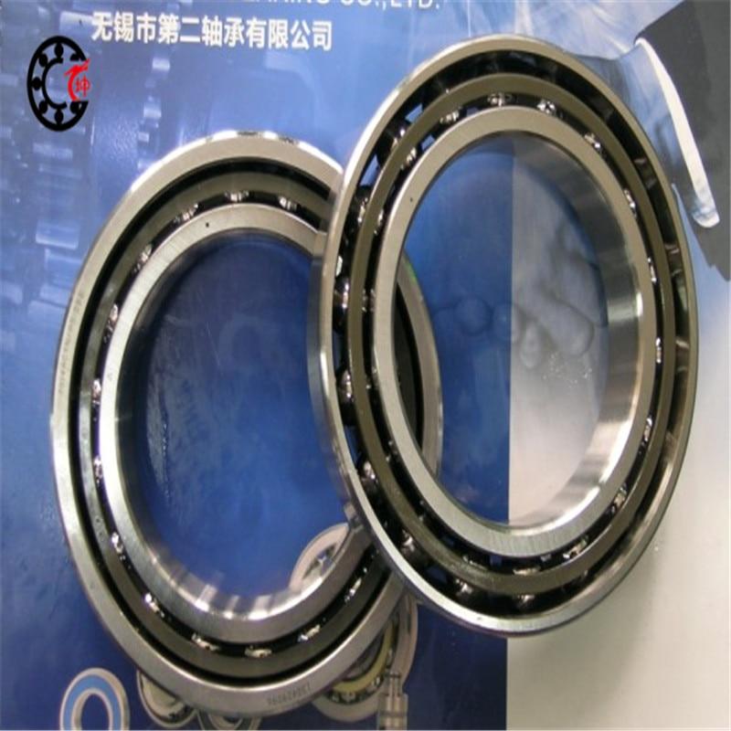 20mm diameter Angular contact ballbearings 760204 TN1/P4DBB 20mmX47mmX28mm Nylon cage ABEC-7 Machine tool 1pcs 71901 71901cd p4 7901 12x24x6 mochu thin walled miniature angular contact bearings speed spindle bearings cnc abec 7