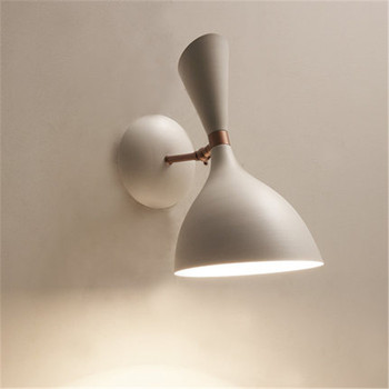 Nordic Creative Personality Led Wall Lamp Art Metal Bedroom Living Room Aisle Living Room Bathroom Bar Indoor Lighting
