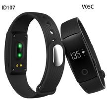 HearthRate Bluetooth Smart band Monitor finest Wristband Fitness Tracker Veryfit 2.0 app pk xiaomi mi band cicret bracelet