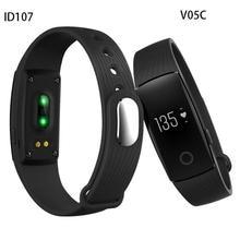 HearthRate Bluetooth Smart band Monitor best Wristband Fitness Tracker Veryfit 2.0 app pk xiaomi mi band cicret bracelet