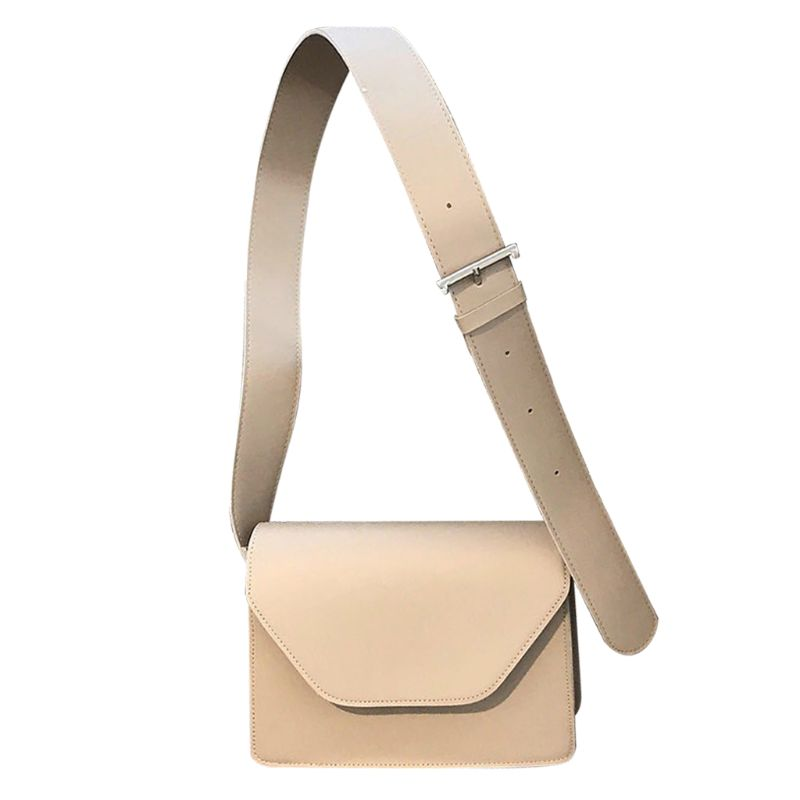 Women Ladies Mini Shoulder Bag Tote Purse Crossbody Handbag Messenger Simple Wide Strap in Top Handle Bags from Luggage Bags
