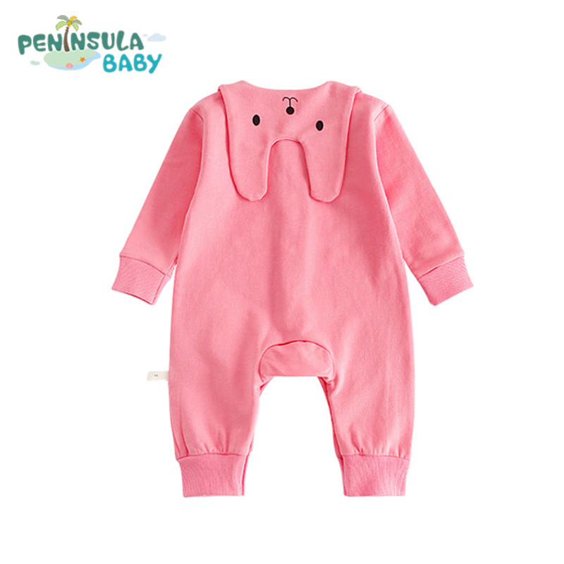 Bodysuits Modest Newborn Toddle Baby Girl Ruffle Dinosaur Jumpsuit Bodysuit Sunsuit Cotton Clothes Outfit Summer Baby Girl 0-24m The Latest Fashion Mother & Kids