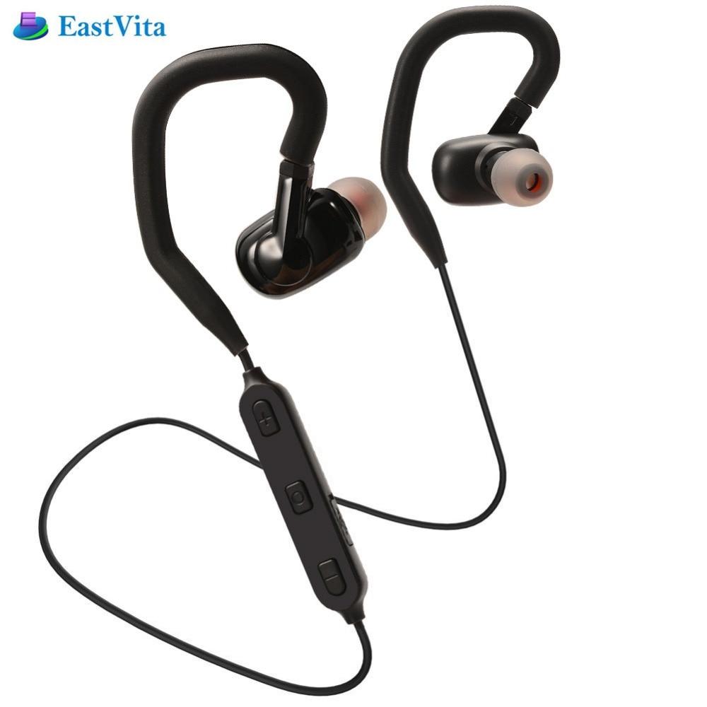 EastVita aptx Bluetooth V4.1 Earphone Wireless in-Ear Earbuds Sports Stereo Earphones with APT-X/Microphone Noise Cancelling r15