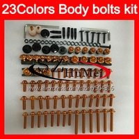Fairing bolts full screw kit For HONDA VTR1000 2000 2001 2002 2003 04 2005 2006 RC51 SP1 P2 VTR 1000 Windscreen bolt screws Nuts