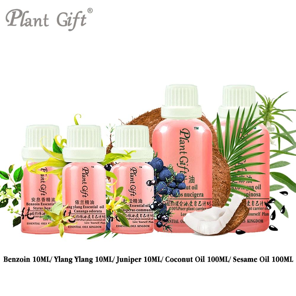 цена на Free Shopping 100% Pure Plant Essential Oils Benzoin / Ylang Ylang / Juniper / Coconut / Sesame Oil Vietnam Imports Restore