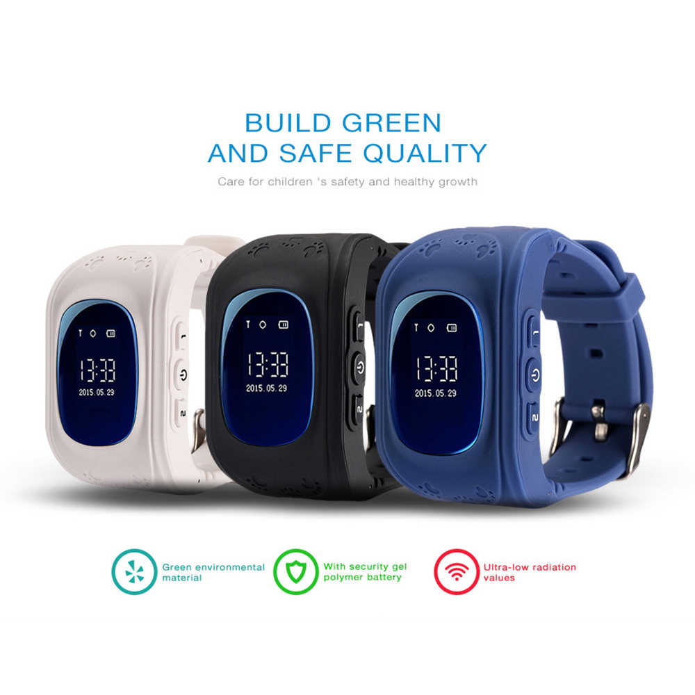 LEMFO Q50 Smart Watch Anti lost SOS Safe Kids Watches With GPS And With A Sim Card In Russian Q50 GPS Smart Kid