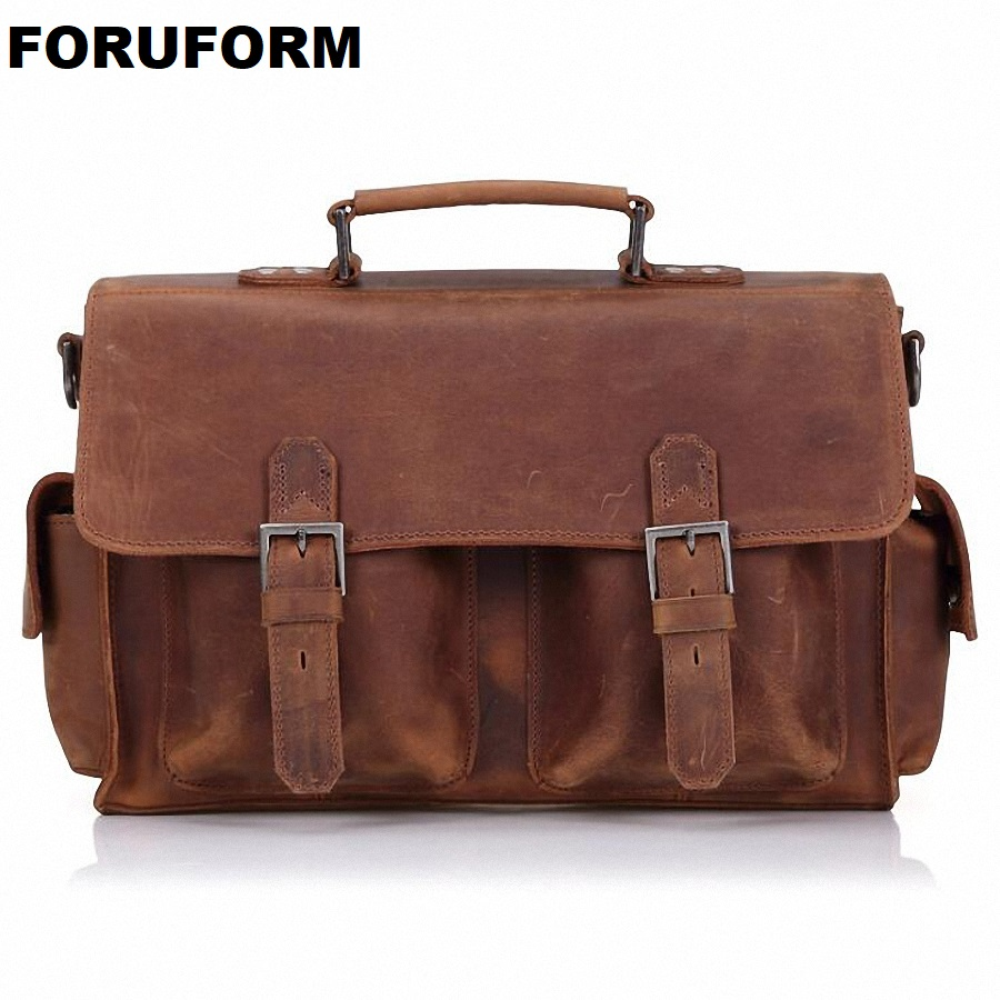 Handbag Men Bag Genuine Leather Briefcases Shoulder Bags Laptop Tote Men Crossbody Messenger Bags Handbags Designer Bag LI-1995 ograff handbag men bag genuine leather briefcases shoulder bags laptop tote men crossbody messenger bags handbags designer bag