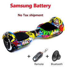 Samsung battery 6.5 inch 2 wheels self balance electric scooter balance unicycle body feeling twisting skateboard hover board