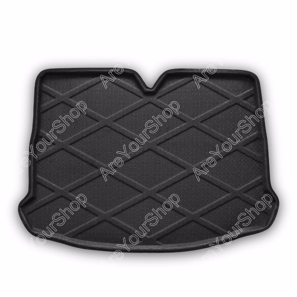 For Volkswagen Scirocco 2009-2013 Car Auto Cargo Mat Boot liner Tray Rear Trunk Stickers Dog Pet Covers Car-Covers Stickers car rear trunk security shield cargo cover for jeep compass 2007 2008 2009 2010 2011 high qualit auto accessories
